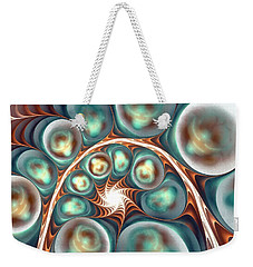 Weekender Tote Bag featuring the digital art Over One's Head by Anastasiya Malakhova