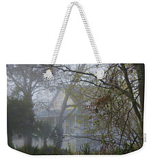 Weekender Tote Bag featuring the photograph Over The Back Fence View by Laura Ragland