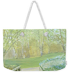 Over The Bridge Weekender Tote Bag