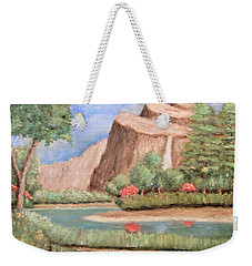Over The Cliff Weekender Tote Bag