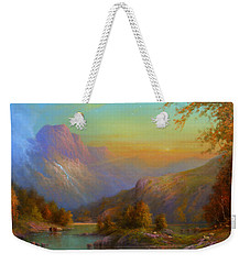 Over The Hills To Killarney Weekender Tote Bag by Joe Gilronan