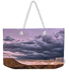 Weekender Tote Bag featuring the photograph Over The Horizon by Gina Savage