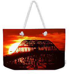 Over The Hump Weekender Tote Bag by John Glass