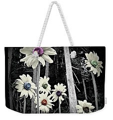 Weekender Tote Bag featuring the photograph Over The Rainbow by Janice Westerberg