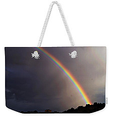 Over The Rainbow Weekender Tote Bag by Joseph Frank Baraba