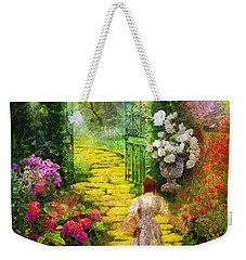 Over The Rainbow Weekender Tote Bag by Mo T