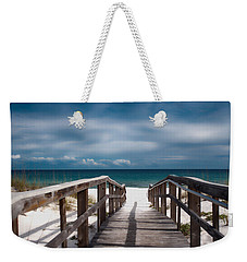 Over The Sand Weekender Tote Bag