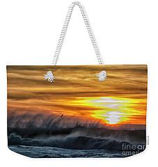 Over The Sea Weekender Tote Bag