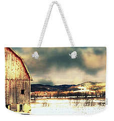 Over Yonder Weekender Tote Bag by Julie Hamilton
