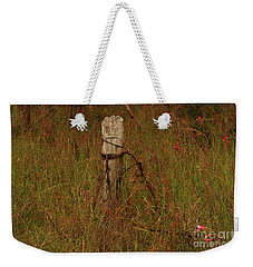 Weekender Tote Bag featuring the photograph Overgrown by Cassandra Buckley