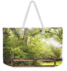 Weekender Tote Bag featuring the photograph Overgrown by Shelby Young
