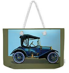 Overland 1911 Painting Weekender Tote Bag by Paul Meijering