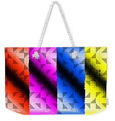Overlayed Mask Weekender Tote Bag