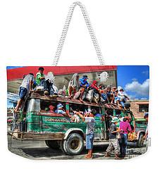 Overload Weekender Tote Bag