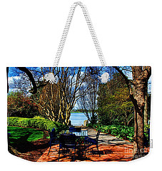Overlook Cafe Weekender Tote Bag