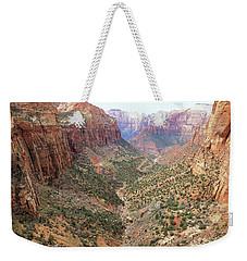 Overlook Canyon Weekender Tote Bag