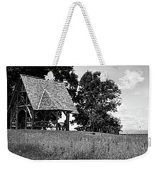 Weekender Tote Bag featuring the photograph Overlook Pavilion In Summer #1 by Jeff Severson