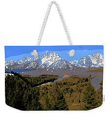 Overlook Weekender Tote Bag