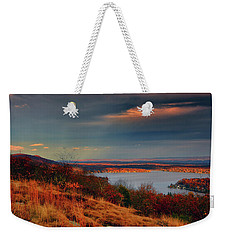 Overlooking Culvers Lake Weekender Tote Bag by Raymond Salani III