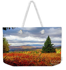Overlooking The Foothills Weekender Tote Bag