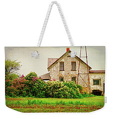 Overlooking The Hedge Weekender Tote Bag