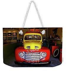 Overpainted 1950 Ford Pickup Weekender Tote Bag