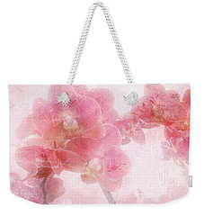 Orchid Collection 'overpainting' Weekender Tote Bag