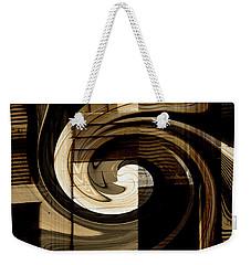 Overwhelmed Weekender Tote Bag by Lenore Senior