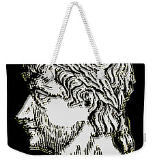 Weekender Tote Bag featuring the digital art Ovid by Asok Mukhopadhyay