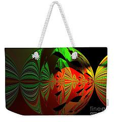 Art Green, Red, Black Weekender Tote Bag