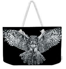 Owl 1 Weekender Tote Bag