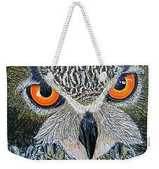 Owl Capone Weekender Tote Bag