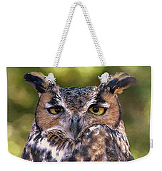 Owl Eyes Weekender Tote Bag