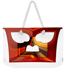 Owl Face Weekender Tote Bag by Thibault Toussaint