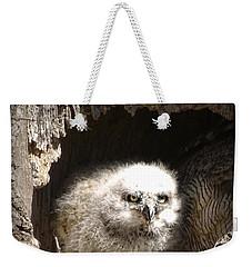 Owlet Weekender Tote Bag