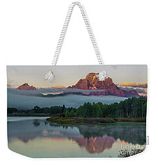 Oxbow Bend Sunrise- Grand Tetons Weekender Tote Bag