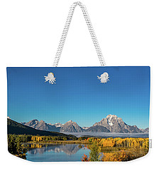 Oxbow Bend Weekender Tote Bag by Mary Hone