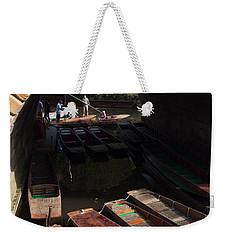 Oxford Punts Weekender Tote Bag