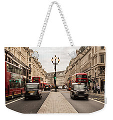 Oxford Street In London Weekender Tote Bag