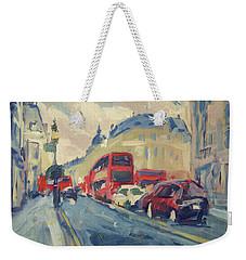 Oxford Street Weekender Tote Bag