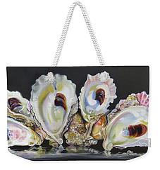 Oyster Reef Weekender Tote Bag by Phyllis Beiser