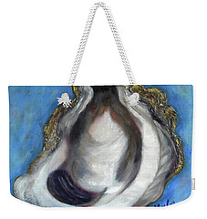 Oyster Shell 1 Weekender Tote Bag