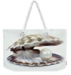 Oyster With Pearl Weekender Tote Bag