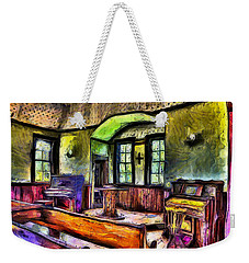 Oysterville Church Interior Weekender Tote Bag