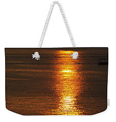 Ozark Lake Sunset Weekender Tote Bag
