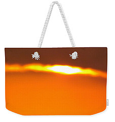 Weekender Tote Bag featuring the photograph Ozark Sunset 2 by Don Koester