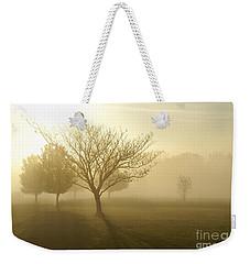 Ozarks Misty Golden Morning Sunrise Weekender Tote Bag