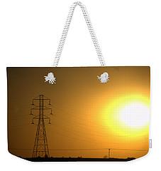 Ozone Glow Weekender Tote Bag