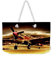 P-40 Warhawk Blazrd Weekender Tote Bag