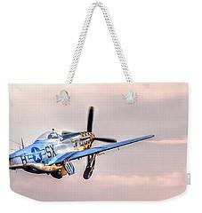 P-51 Mustang Taking Off Weekender Tote Bag